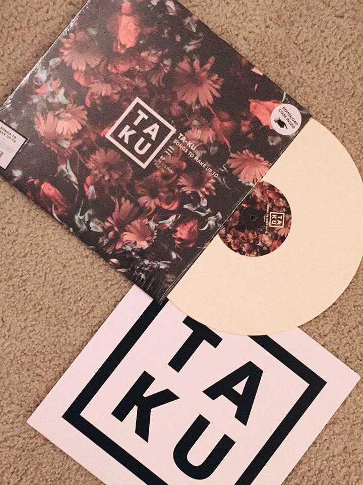 Bone colored vinyl / TAKU sleeve