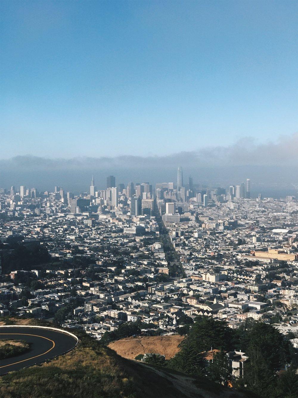 twin peaks of san francisco