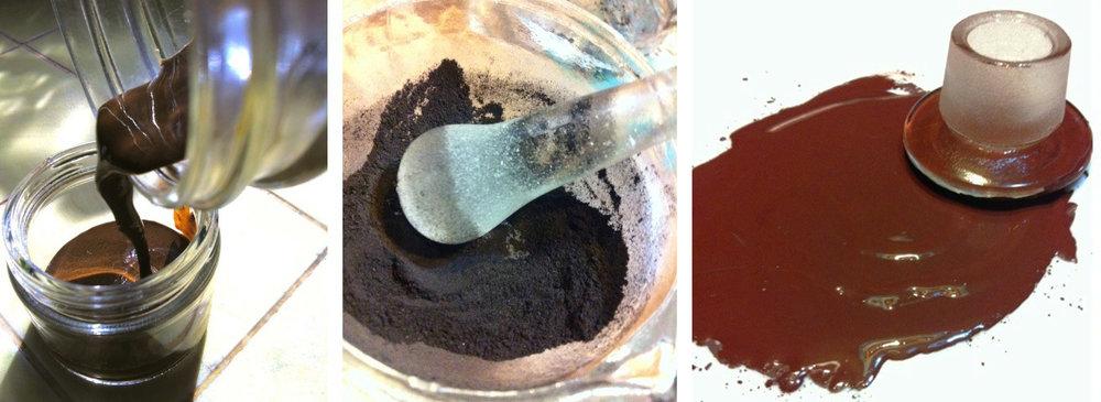 Refining pigment