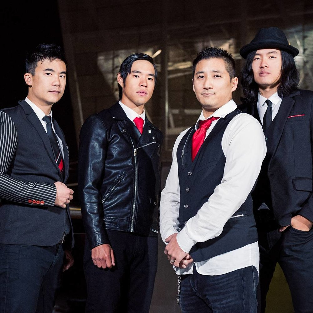 Portland's all Asian American rock band, The Slants.