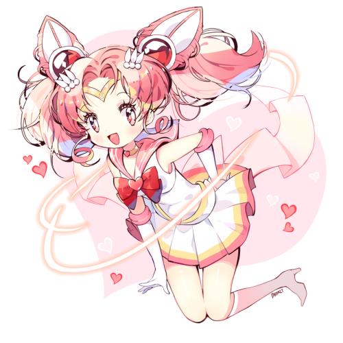 Sailor Mini Moon by PARFAIT @ https://www.pixiv.net/member.php?id=1262853