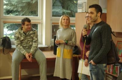 Presentación de nuestro voluntario en el centro en el que colaborará
