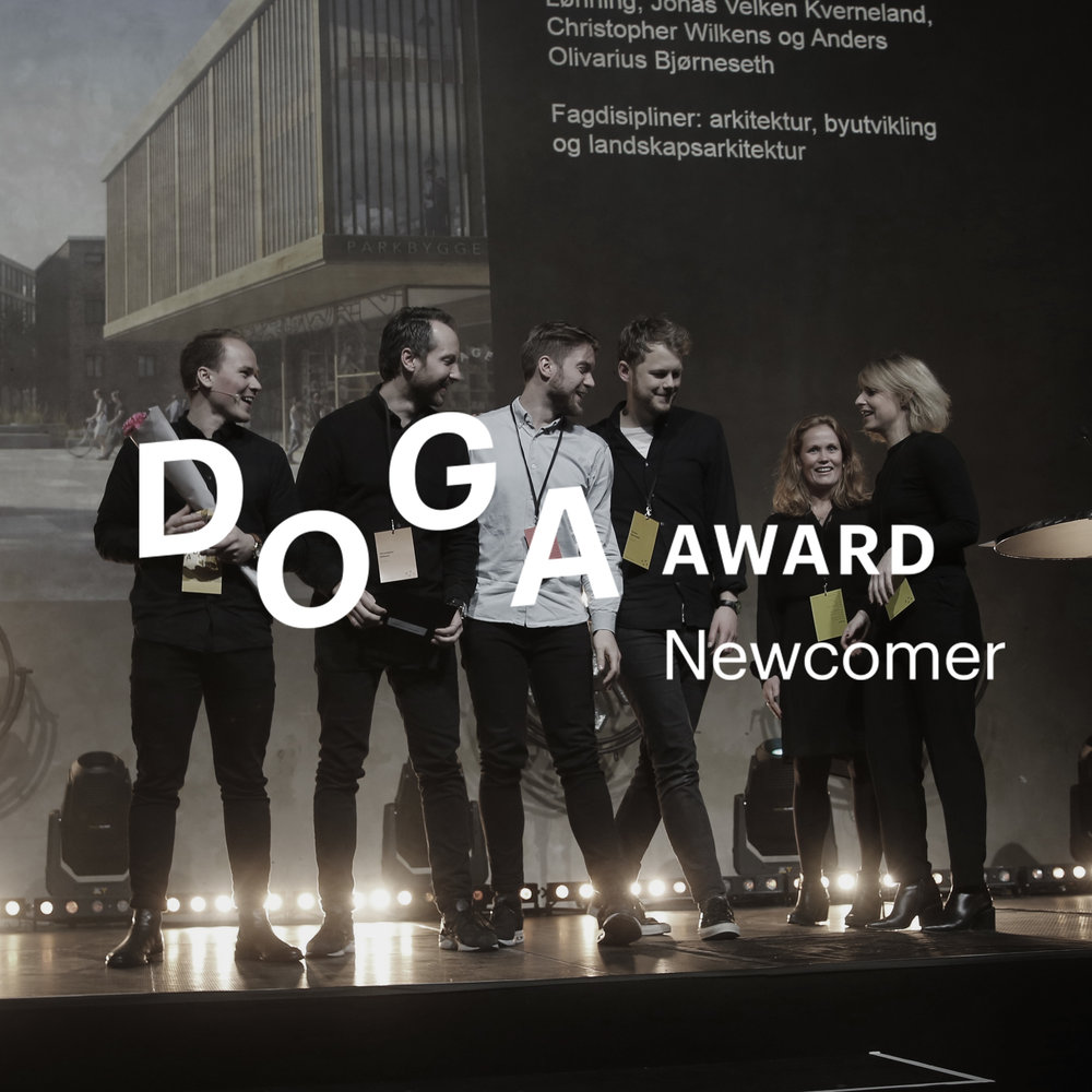 We received the DOGA Award Newcomer 2017!