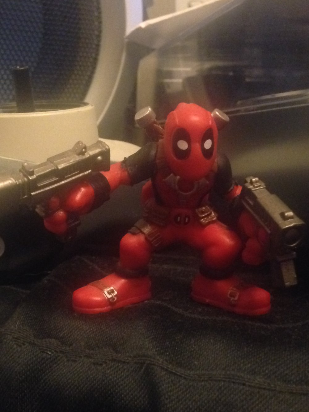 Finding Deadpool in a discount bin...those were the days!