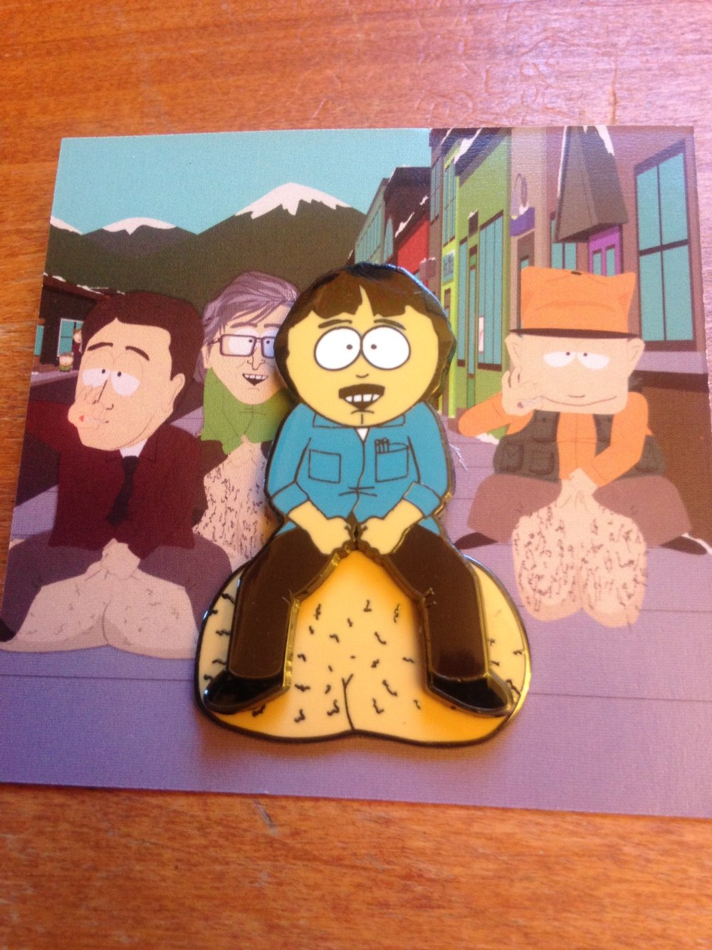 #1. Randy Marsh with Swinging Balls Pin