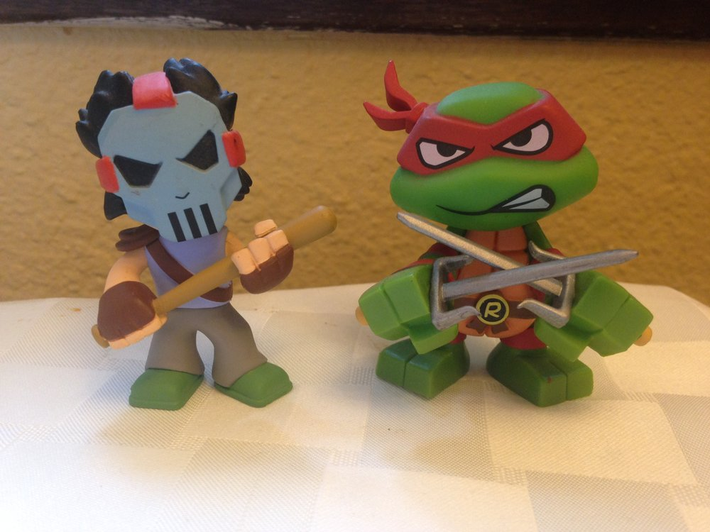 Mystery Mini Raph and Casey - $5