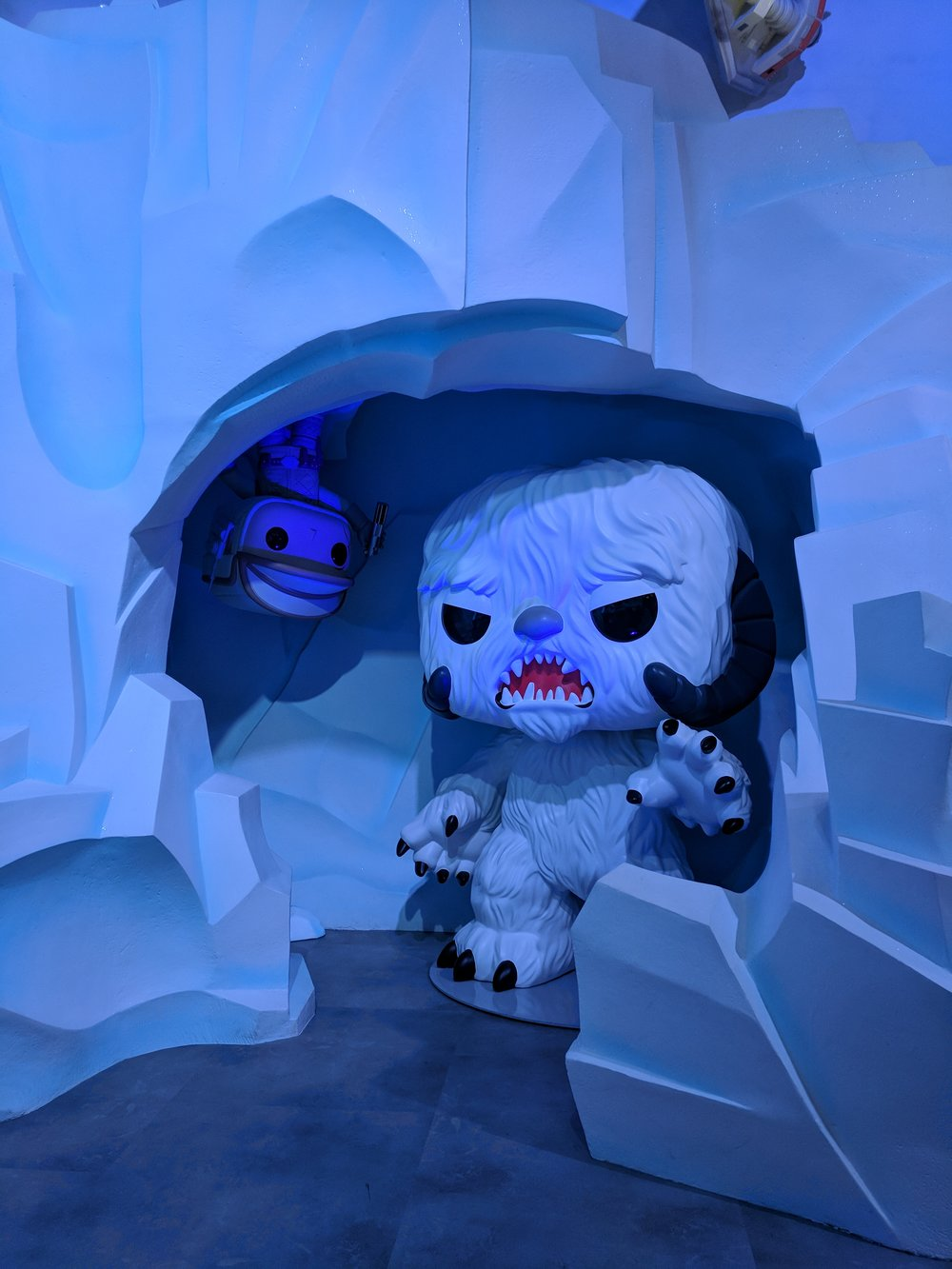 The Pop treatment doesn't make everything cute and cuddly. That wampa still looks horrifying