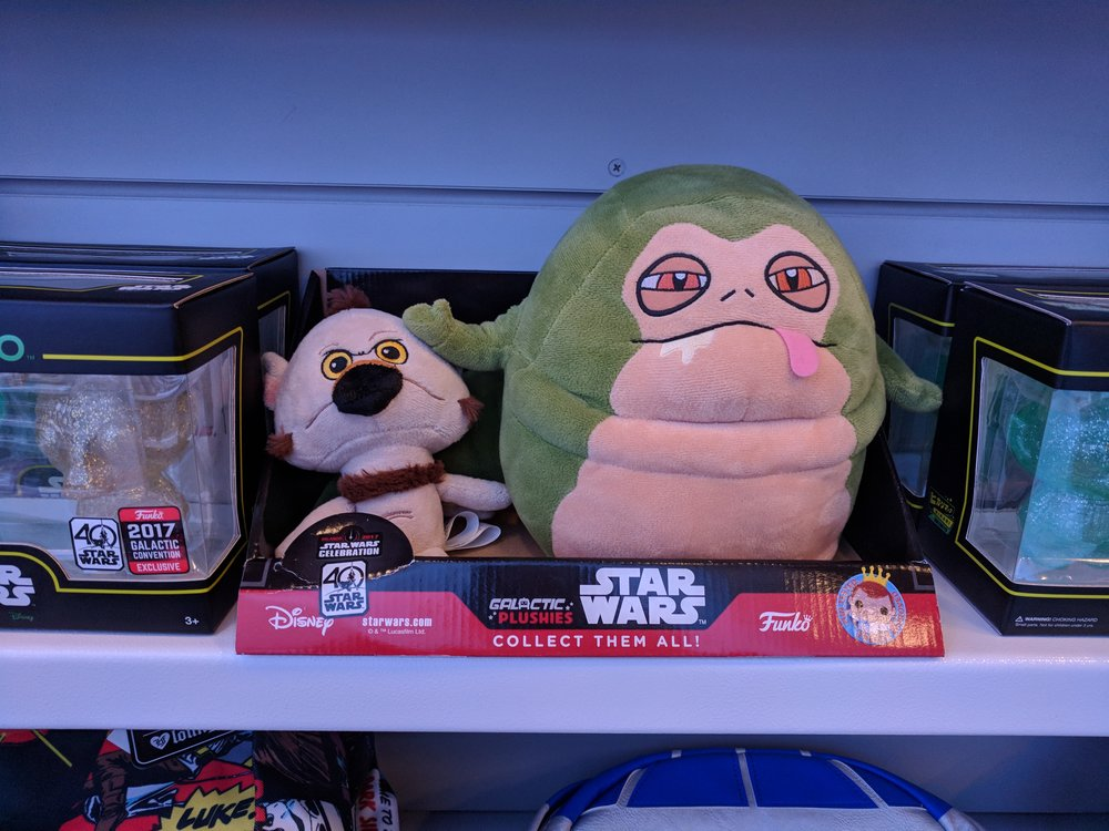 This looks like they crossed Jabba the Hutt and Salacious Crumb with Ren and Stimpy and I love it!