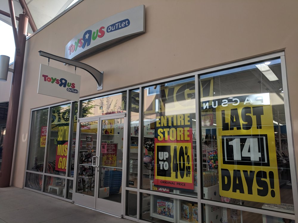 Pour one out for Toys R Us
