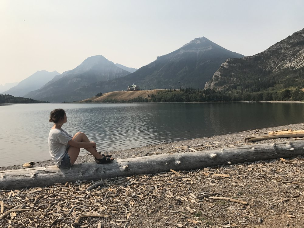 Parc National de Waterton Lakes, Alberta - septembre 2017