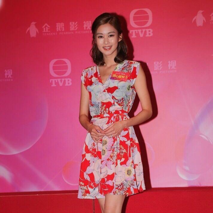 岑麗香 Eliza Sam   Eliza Sam in Yumi Kim Soho Mixer Dress at a TVB Dinner Event (10/7/17)