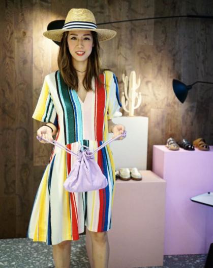 @mandeeee   Mandy in Whit Dress, Hat Attack Hat & Clare V bag (5/6/17)  Photo Credit: mandeeeee