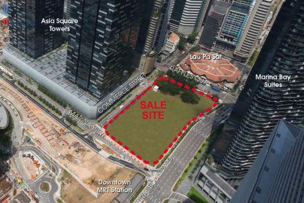 Singapore CBD Office Space for Rent - Central Boulevard Land Sale