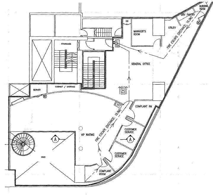 1st storey mezzanine