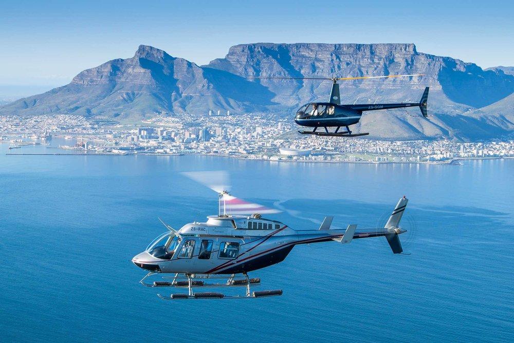 Balade en Hélicoptère -