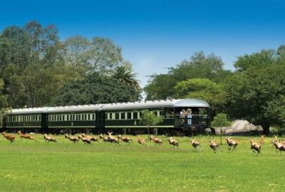 Voyage en train de luxe -