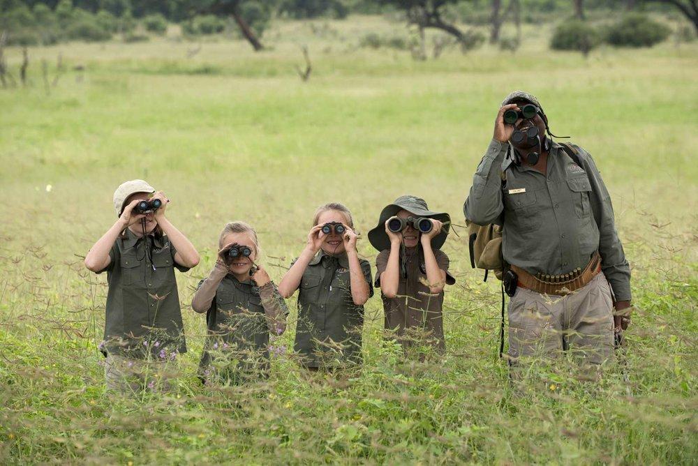 Safaris en famille -