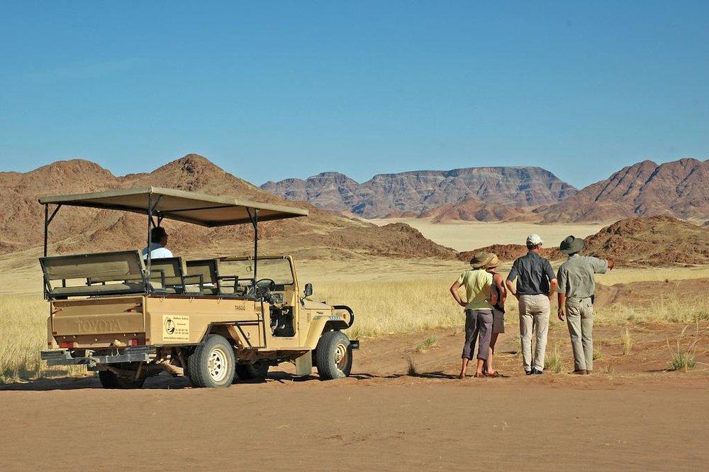 Circuits regroupés - Découverte de la Namibie en véhicule 4x4 avec un guide local francophone