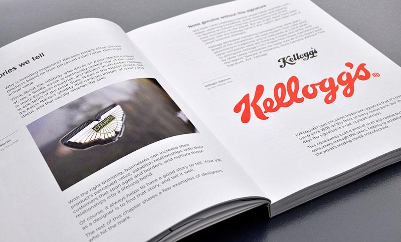 logo-design-love-david-airey-graphic-design-designer-brand-identity-book-heart-minimal-minimalistic-minimalism-buy-read-take-get-write-kellog-kellogs-red-aston-martin