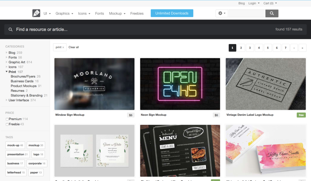medialoot-mockup-mock-design-graphic-designer-logo-download-free-premium-resource-resources-photoshop-illustrator-adobe