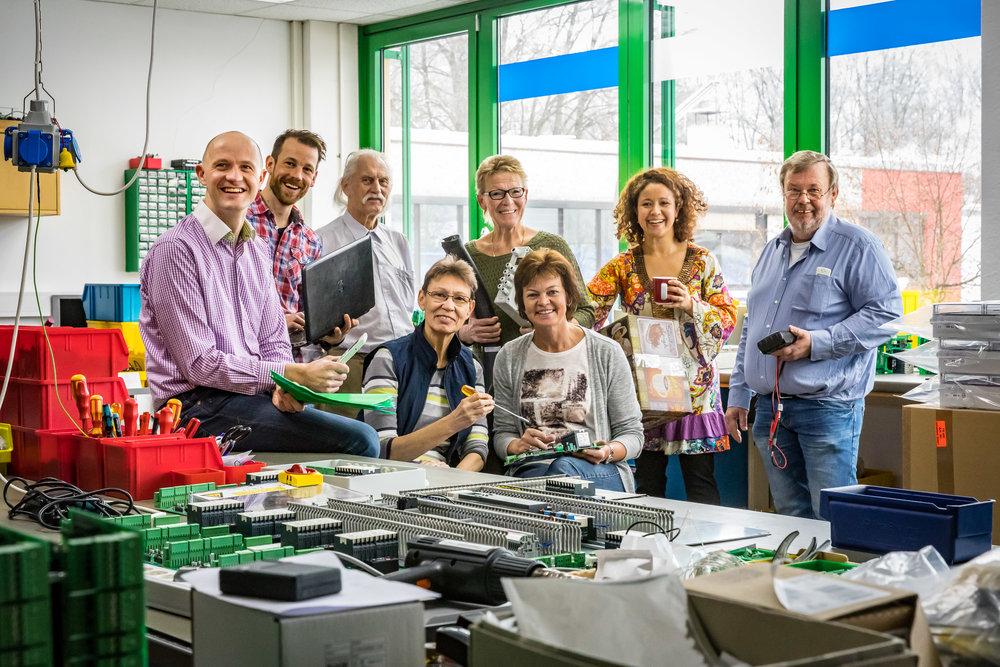 Das Team der Schöfmann Steuerungselektronik GmbH