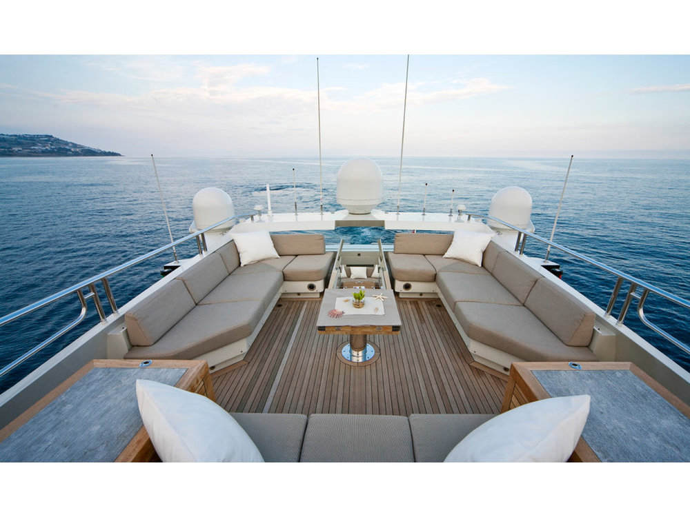 Copy of Sportyacht 120 aft deck