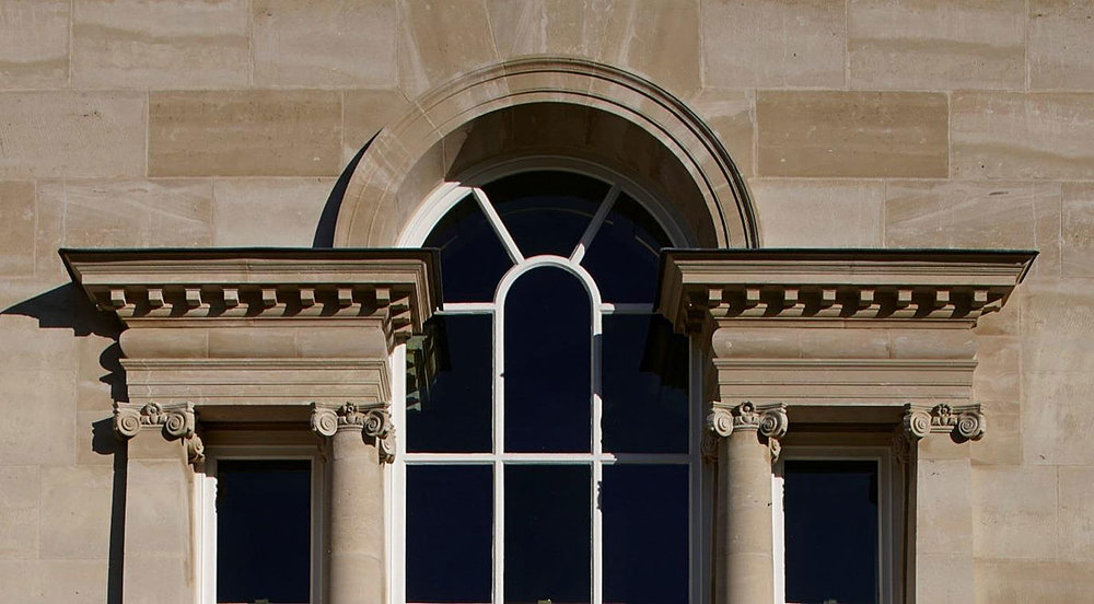 Venetian window at Ferne Park, Dorset by Quinlan and Francis Terry 2012