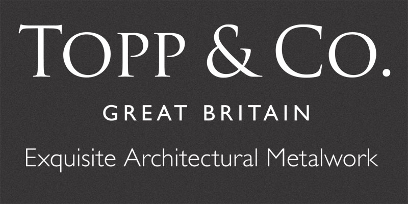 - TOPP & CO www.toppandco.comCreating & Restoring Great British IronworkCaring for the fine metalwork at some of the most architecturally sensitive sites in the world demands superb craftsmanship and, as leading authorities in the craft of blacksmithing, Topp & Co thrives on the demanding technical challenges set by the traditional and heritage sector. The company's relationship with leading architects, specialist contractors, conservation experts and practitioners is central to its ability to deliver work of the highest standard.Contact: email: enquiry@toppandco.com telephone: 01347 833173