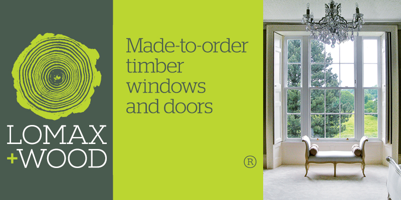 - Lomax + Wood     www.lomaxwood.co.ukLomax + Wood specialise in made-to-order timber windows and doors, with products produced to create the proportions and sections required by our clients. We have the ability and willingness to adapt standard sections to create period sightlines or make one off details with bespoke testing if specific performance results are also required.Lomax + Wood have supplied period made-to-order timber windows and doors across London and the UK.Contact: sales@lomaxwood.co.uk   telephone:01277 353857