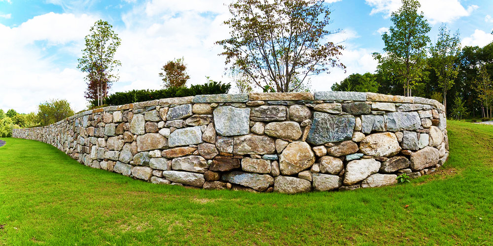 "Artisan Grounds Landscaping did a great job. The wall looks fantastic, the job was done quickly and on budget...We'd use these folks again in a second, and we'd recommend them to anyone.""  Ira Hoffman Stratham, NH"