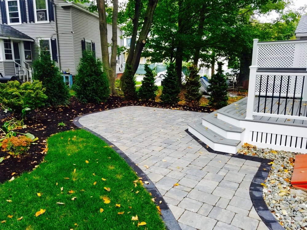 Landscaping Portsmouth NH Stone Patios