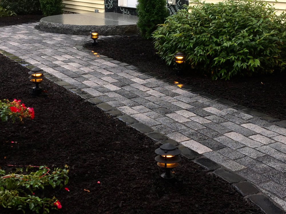 Landscaping Stone Walkway Installation
