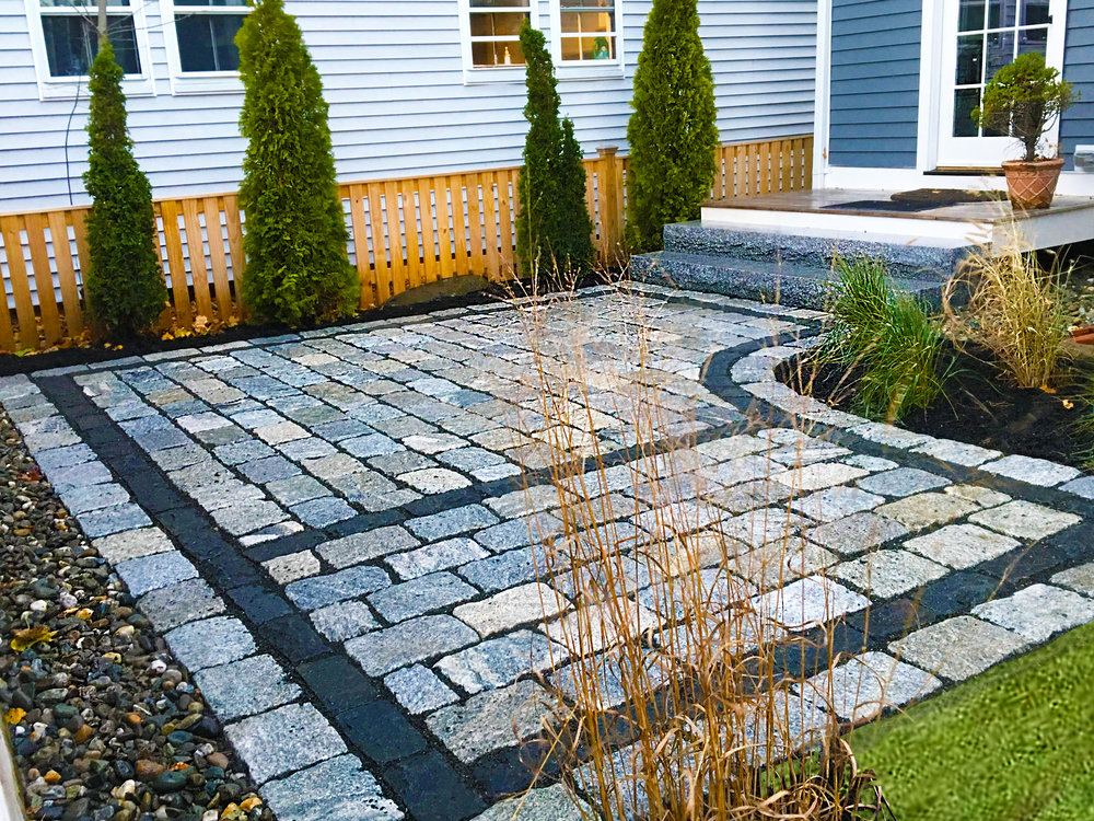 Landscaping Portsmouth NH Natural Stone Pavers