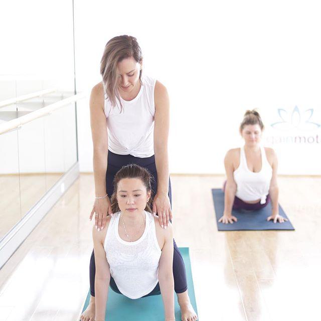 Move slowly, breathe deeply, the body will slowly start to shift....