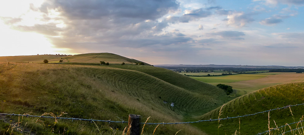 Vale of Pewsey, early morning