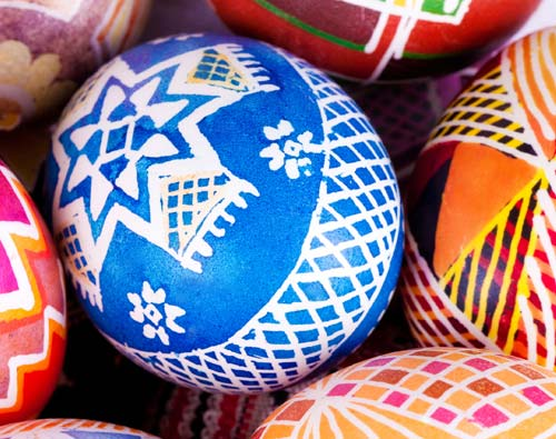 Pysanka - a great Easter activity for children's workshops