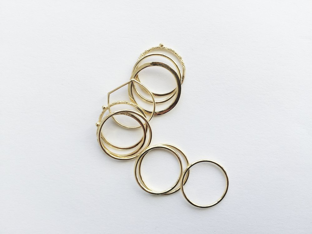 PERSONAL RINGS STACK, 2016