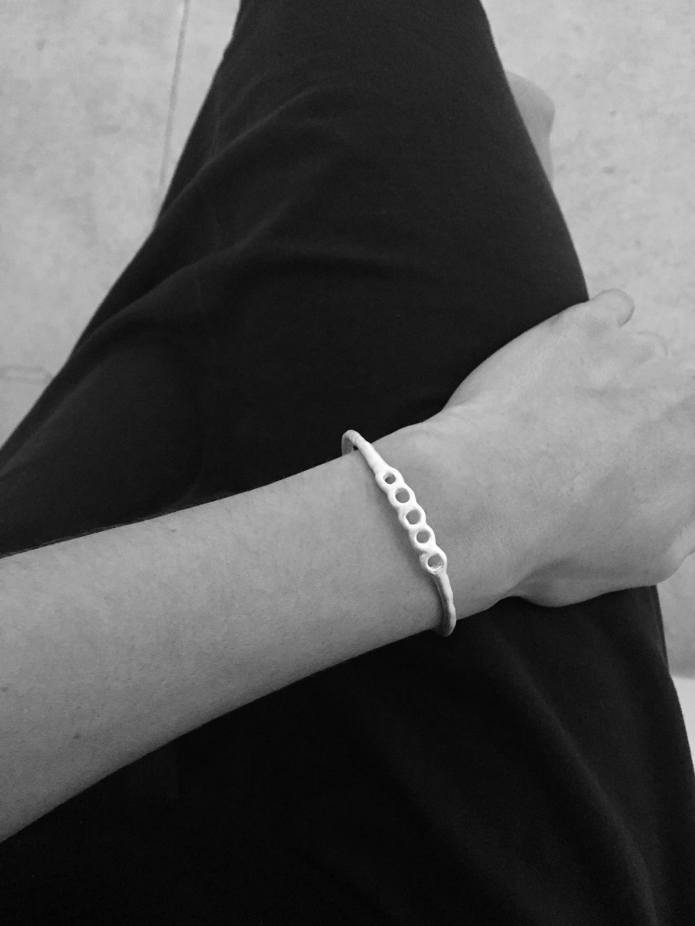 5 YEARS ANNIVERSARY BRACELET - STERLING SILVER