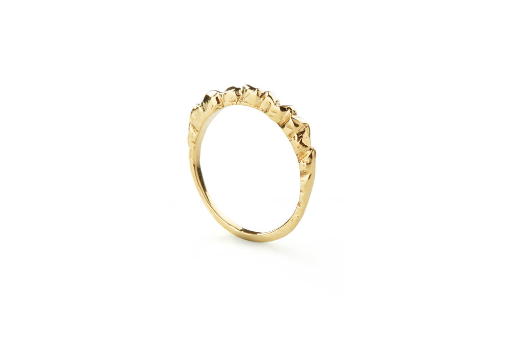 30TH BIRTHDAY RING - 9CT YELLOW GOLD