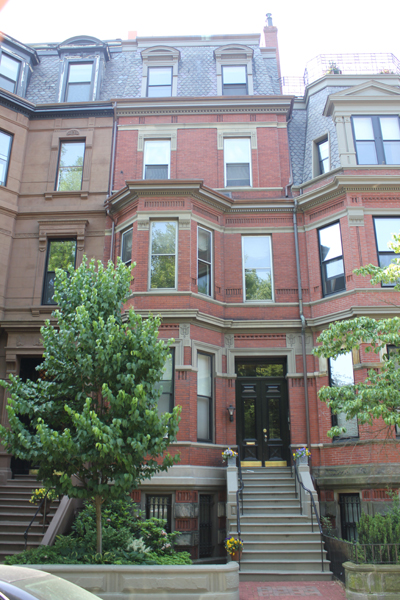 118 Commonwealth Avenue   Five unit residential condo development in Boston's Back Bay