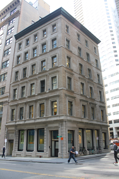 13-15 Congress Street   Six unit retail / office building in Boston's Financial District