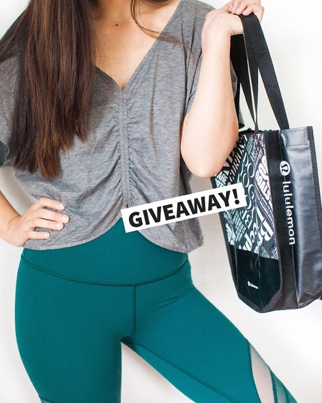 WIN AN OUTFIT FROM LULULEMON!🎉 We've teamed up with some incredible people to bring you this extra special giveaway! One of you will win an outfit from Lululemon...and guess what?! YOU get to hand-pick your own outfit! 👉🏼1 top + 1 pair of bottoms😱🤗 .  All of us have a passion to inspire others towards health, wellness, and natural healing. While we help you feel good on the inside, let Lululemon help you look good on the outside! .