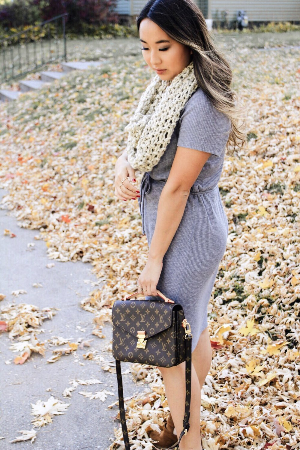 Casual Fall Dress Styling
