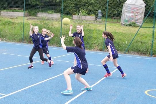 Girls NetballU13A U14A - After school / Sports Hall / G O'Leary / PE