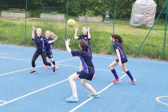 Girls NetballU12 U13B - After school / Sports Hall / S Hillam / PE