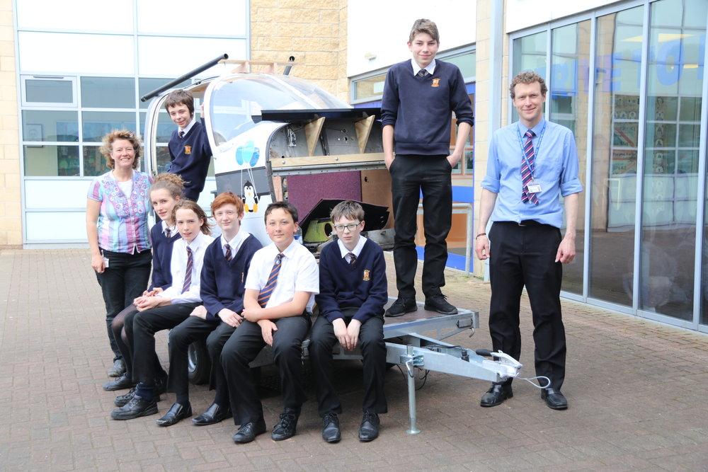 Flight Sim - After school / Foyer / V James & A Russell / STEM