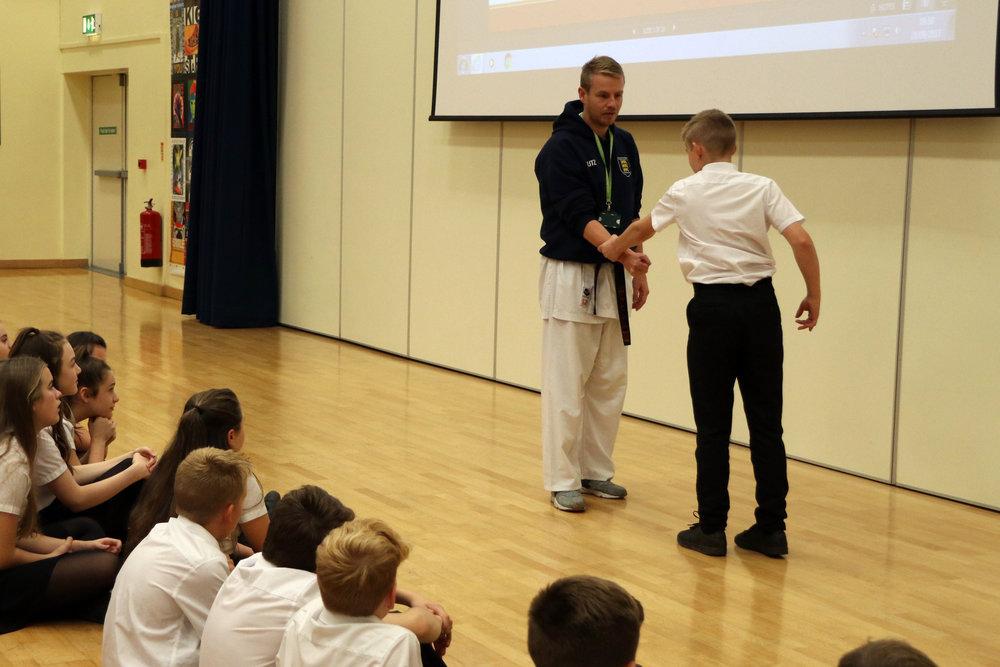 Self defense / karate - 8am (from 12 Oct) / Matthew Handley / £3 per student per class
