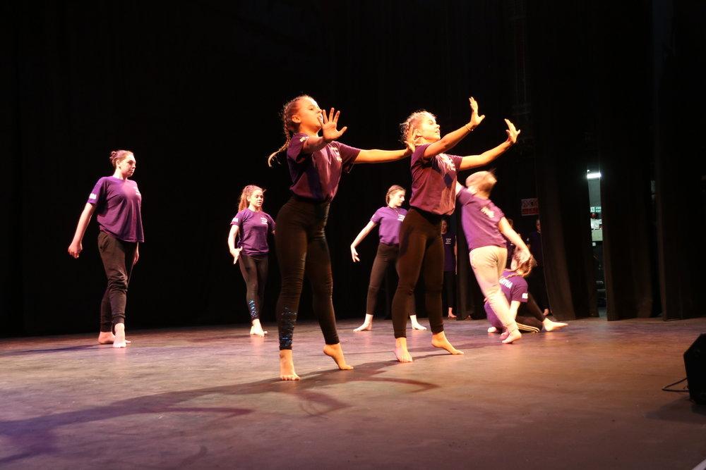 Junior Dance Class - Lower School Lunch / Theatre / Mrs Attah / Dance