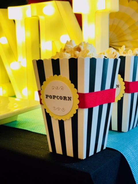 Carnival Popcorn Holders