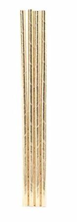 Gold Straws